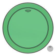 """Remo 24"""" P3 Colortone Batter Green"""