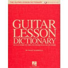Hal Leonard The Guitar Lesson Dictionary