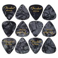 Fender Black Moto Pick Medium