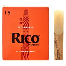 DAddario Woodwinds Rico Bb- Clar 1.5