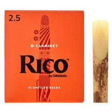 DAddario Woodwinds Rico Bb- Clar 2.5