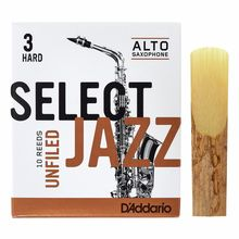 DAddario Woodwinds Select Jazz Unfiled Alto 3H