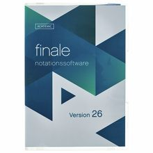 MakeMusic Finale 26 (D) EDU
