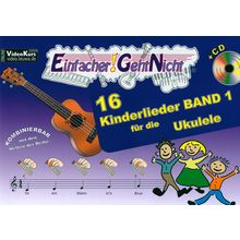 LeuWa-Verlag 16 Kinderlieder Ukulele 1
