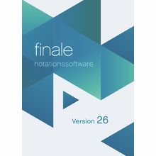 MakeMusic Finale 26 (D) Student/Schüler