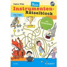 Schott Instrumenten-Rätselblock