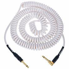 Kirlin Premium Coil Cable 9m White