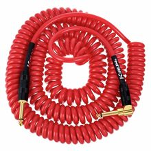 Kirlin Premium Coil Cable 9m Red