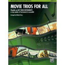 Alfred Music Publishing Movie Trios For All Alto Sax