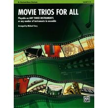 Alfred Music Publishing Movie Trios For All Clarinet