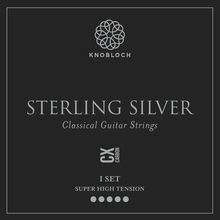 Knobloch Strings Pure Sterling Silver Carbon600