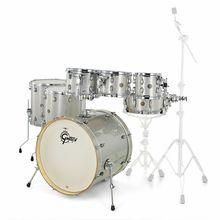 Gretsch Drums Catalina Maple 7-piece Silver