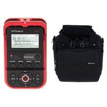Roland R-07 red Bundle