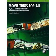 Alfred Music Publishing Movie Trios For All Cello/Bass