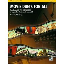 Alfred Music Publishing Movie Duets For All Trumpet