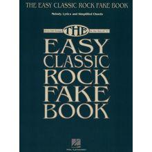 Hal Leonard Easy Classic Rock Fake Book