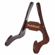 Rockstand Wood A-Frame Stand Brown Oak