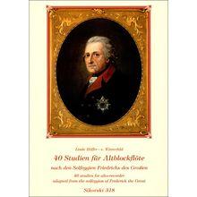 Sikorski Musikverlage 40 Studien Solfeggien Alto Rec