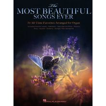 Hal Leonard Most Beautiful Songs Organ