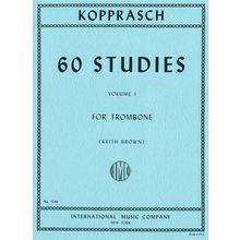 International Music Company Kopprasch 60 Studies 1 Tromb