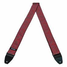 Dunlop Jacquard Strap - Paisley Red