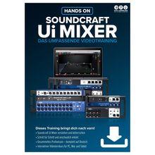 DVD Lernkurs Hands On Soundcraft Ui Mixer