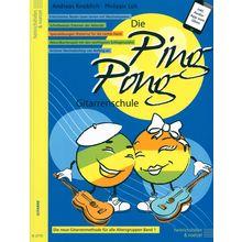 Heinrichshofen's Verlag Die Ping Pong Gitarrenschule