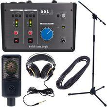 SSL 2 Producer Plus Bundle