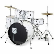 Millenium Focus 20 Drum Set White