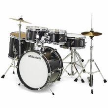 Millenium Focus Junior Drum Set Black