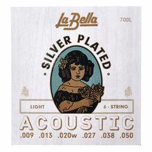 La Bella 700L Silver Plated