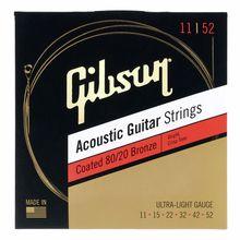Gibson Coated 80/20 Bronze Ult.Light