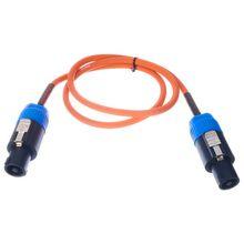 Orange Speaker Cable 1m