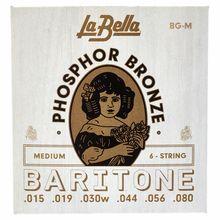 La Bella BG-M Phosphor Bronze Baritone