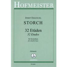 Friedrich Hofmeister Verlag Storch Etüden Kontrabass