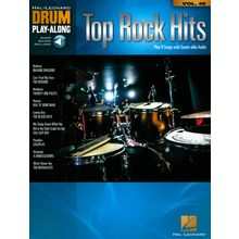 Hal Leonard Drum Play-Along Top Rock Hits