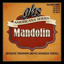 GHS A255 Mandolin String Set