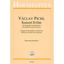 Friedrich Hofmeister Verlag Pichl Konzert D-Dur Kontrabass