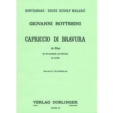 Doblinger Musikverlag Bottesini Capriccio di bravura