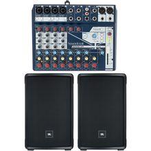 JBL IRX 112 BT Notepad 12FX Bundle