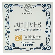Knobloch Strings Double Silver Carbon CX 550ADC