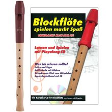 Moeck 1020 Flauto 1 Plus Soprano Set