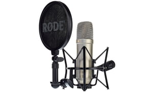Micrófonos de membrana grande