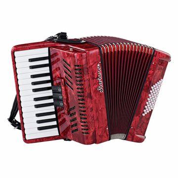 Startone Piano Accordion 48 Red MKII