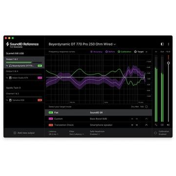 Sonarworks SoundID Ref Speakers & HP