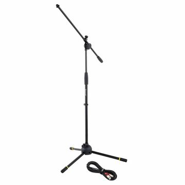 Roadworx Mic Stand + Cable 10 m Pack