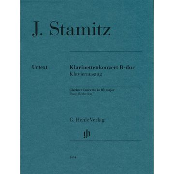 Henle Verlag Stamitz Klarinettenkonzert