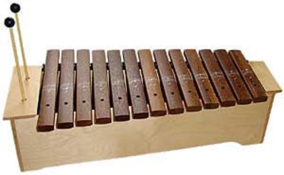 Klangstäbe mit 2 Tönen C - E Tisch-Glockenspiel