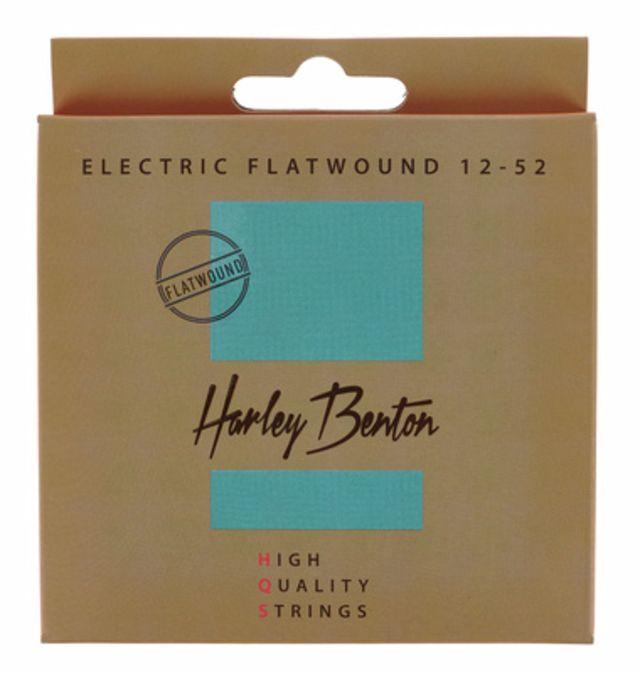 Harley Benton HQS EL 12-52 Flatwound