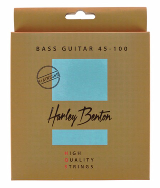 Harley Benton HQS Bass 45-100 Flatwound